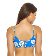 Load image into Gallery viewer, PilyQ POPPY Andrea Reversible Bikini Swim Top, US Large