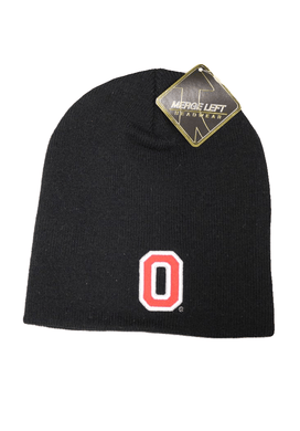 Ohio State Adult Unisex Black Embroidered Beanie, One Size