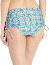 Load image into Gallery viewer, La Blanca WHITE/MILANO Adjustable Skirted Hipster Bikini Swim Bottom, US 14
