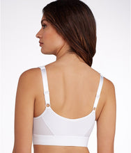 Load image into Gallery viewer, Amoena WHITE Ester Front Close Sports Bra, US 34C - racks-op