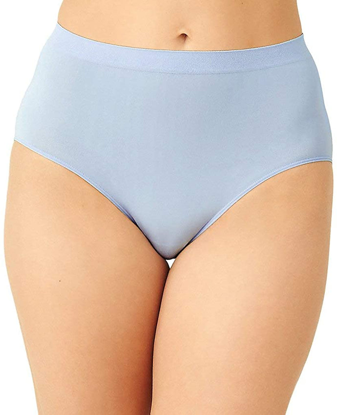 Wacoal CASHMERE BLUE B Smooth Brief Panty, US Large
