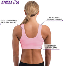 Load image into Gallery viewer, Enell HOPE Lite Full Coverage Sports Bra, US 6