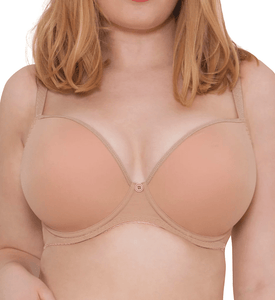 Curvy Kate LATTE Smoothie Soul Plunge Contour T-Shirt Bra, US 32DD, UK 32DD