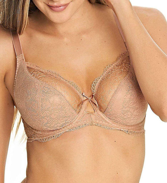 FREYA Cafe Fancies Plunge Balcony Bra, US 30H, NWOT - racks-op