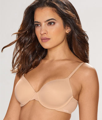 Calvin Klein BARE Perfectly Fit Modern T-Shirt Bra, US 34DDD - racks-op