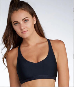 UNDER ARMOUR BLACK ARMOUR® STRAPPY BRALETTE SIZE US XL - racks-op