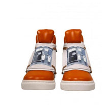 Load image into Gallery viewer, Musterbrand Men's Orange Skywalker X-Wing Sneaker, US 12, UK 11