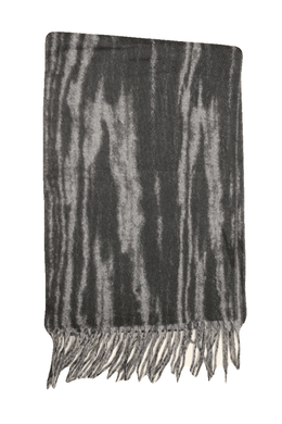 Bloomingdale's Men's Gray/Black Scarf