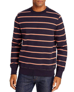 Ps Paul Smith NAVY Striped Sweatshirt, US X-Large