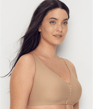 Load image into Gallery viewer, OLGA Toasted Almond Easy Does It Wire-Free 2 Ply Bra, US X-Large, NWOT