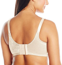 Load image into Gallery viewer, Bali PORCELAIN Double Support Lace Wirefree Spa Closure Bra, US 42C, UK 42C