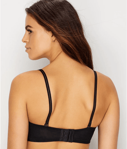 OnGossamer BLACK Next To Nothing Plunge Strapless Bra, US 36D - racks-op