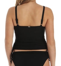 Load image into Gallery viewer, Panache BLACK Anya Bra-Sized Balconnet Tankini Swim Top, US 36DD - racks-op