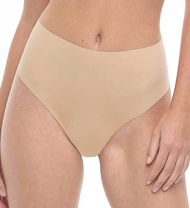 Commando TRUE NUDE Solid High-Rise Thong, US Small/Medium