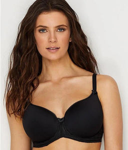 Panache BLACK Cari Spacer Molded Bra, US 36F, UK 36E