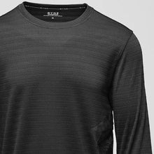 Load image into Gallery viewer, Dyne BLACK Long-Sleeve Side-Pocket Tee, US Large S/S