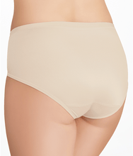 Load image into Gallery viewer, Vanity Fair DAMASK NEUTRAL Body Caress Hi Cut Brief Panty, US 8/X-large