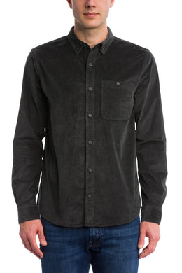 Toad & Co SOOT Cruiser Cord Long Sleeve Shirt, US Large