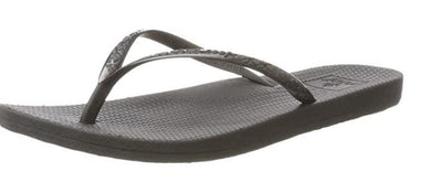 Reef Women's Black Escape Lux Flip Flop, 10