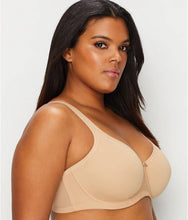 Load image into Gallery viewer, ELOMI Nude Smoothing Seamfree Underwire Bra, US 40DD, UK 40DD, NWOT