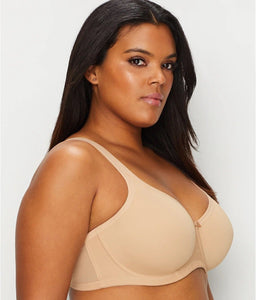 ELOMI Nude Smoothing Seamfree Underwire Bra, US 40DD, UK 40DD, NWOT