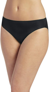 Jockey BLACK No Panty Line Promise Bikini, US 7 - racks-op