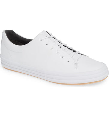 Camper WHITE Hoops Low-Top Sneakers, 10US, 40EU