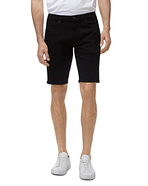 J Brand BLACK Eli Rolled Hem Slim Fit Cut-Off Shorts, US 33 REG