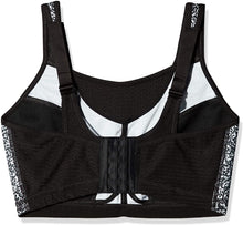 Load image into Gallery viewer, Glamorise PRINT Elite Performance Medium Impact Sports Bra, US 46F, UK 46E