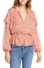 Load image into Gallery viewer, Joie PINK Casha Silk-Blend Blouse, US Medium