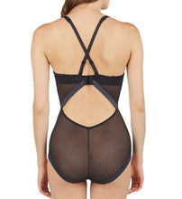 Load image into Gallery viewer, Le Mystere BLACK Infinite Edge Convertible Bodysuit, US 34D, UK 34D
