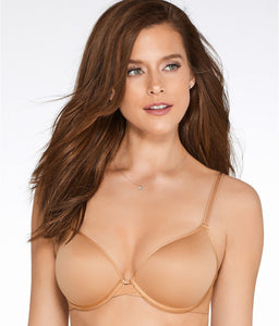 Chantelle TOFFEE Modern Invisible Plunge T-Shirt Bra, US 30DDDD - racks-op