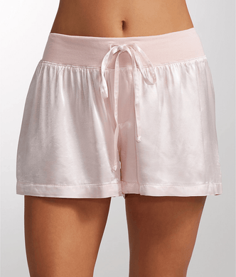 PJ Harlow BLUSH Mikel Satin Sleep Boxer Shorts, US X-Large - racks-op