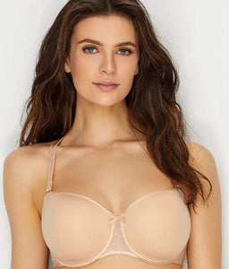 Chantelle NUDE BLUSH Convertible T-Shirt Bra, 34H - racks-op
