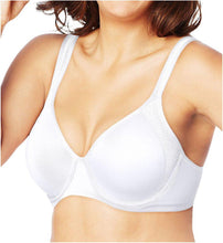 Load image into Gallery viewer, Bali WHITE Active Classic Coverage Foam Underwire Bra, US 34D - racks-op