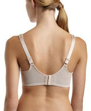 Load image into Gallery viewer, BALI Nude Satin Tracings Minimizer Underwire Bra, US 38DDD, UK 38E, NWOT