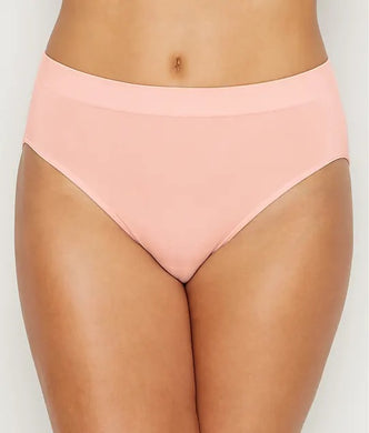 Wacoal CHALK PINK B-Smooth High-Cut Panty, US Large