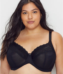 Curvy Kate BLACK Delightfull Full Cup Bra, US 36J, UK 36GG