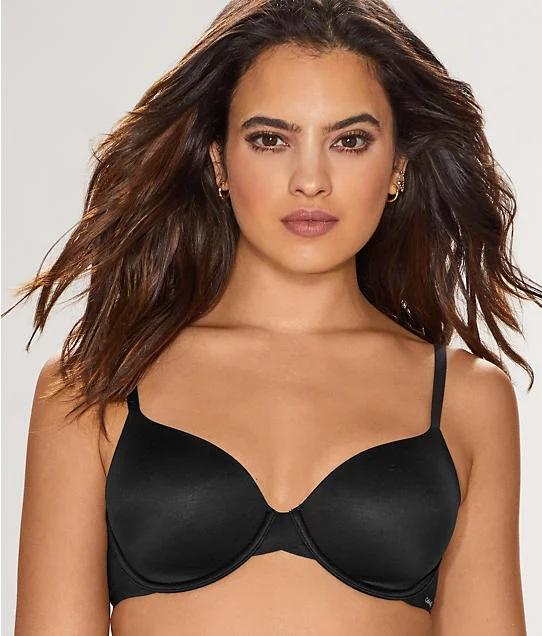Calvin Klein BLACK Perfectly Fit Modern T-Shirt Bra, US 30C - racks-op