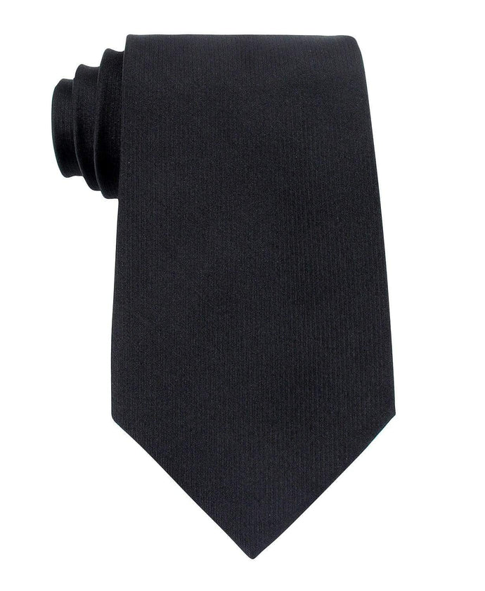 Kenneth Cole Reaction Black Darien Solid Tie