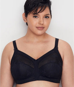 Goddess BLACK Alice Soft Cup Bra, US 46DDD, UK 46E