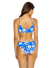 Load image into Gallery viewer, PilyQ POPPY Andrea Reversible Bikini Swim Top, US Medium