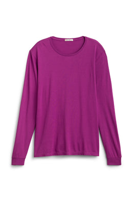 Marine Layer FIG Long Sleeve Supima Cotton/Modal Crewneck, US Medium