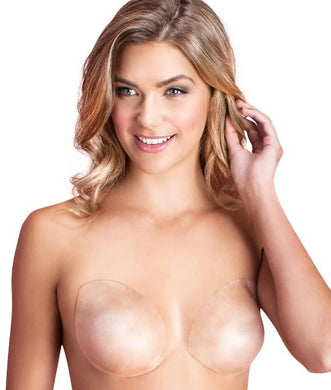 Fashion Forms CLEAR Silicone Skin Bra, Size D/DD - racks-op