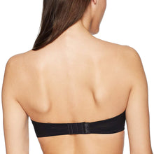 Load image into Gallery viewer, OnGossamer BLACK Next To Nothing Plunge Strapless Bra, US 36D - racks-op