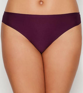 CHANTELLE AUBERGINE Soft Stretch Thong, One Size, NWOT