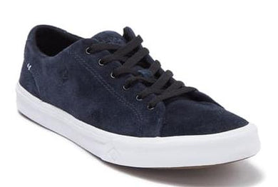 Sperry NAVY Striper II LTT Suede Sneaker, US 8 D