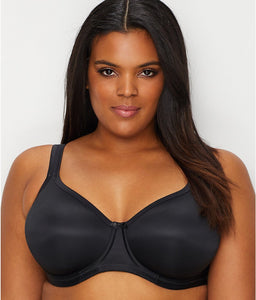 ELOMI Black Smoothing Seamless Bra, Size US 34G, NWOT - racks-op