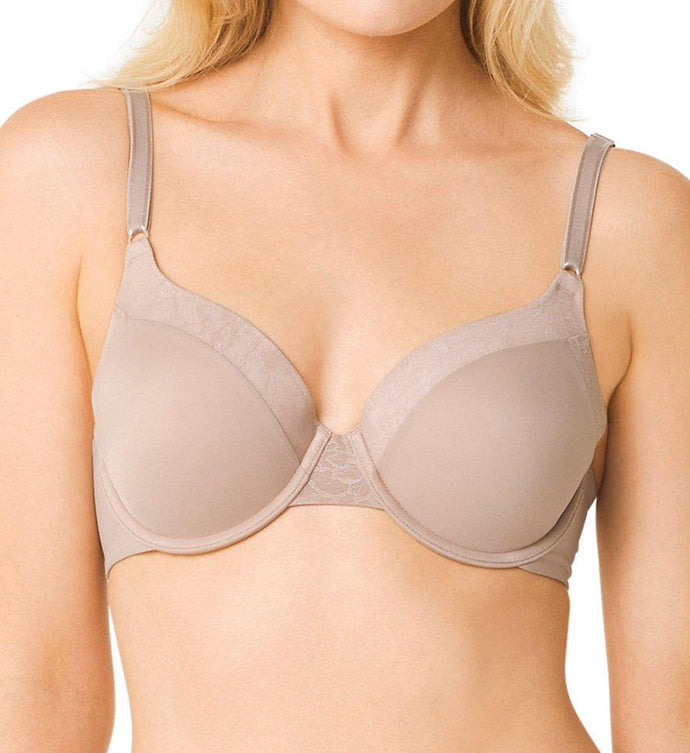 Warner's TOASTED ALMOND Smooth FX Underwire Contour Bra, US 38B - racks-op