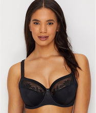 Load image into Gallery viewer, Fantasie BLACK Illusion Underwire Side Support Bra, US 32L, UK 32HH